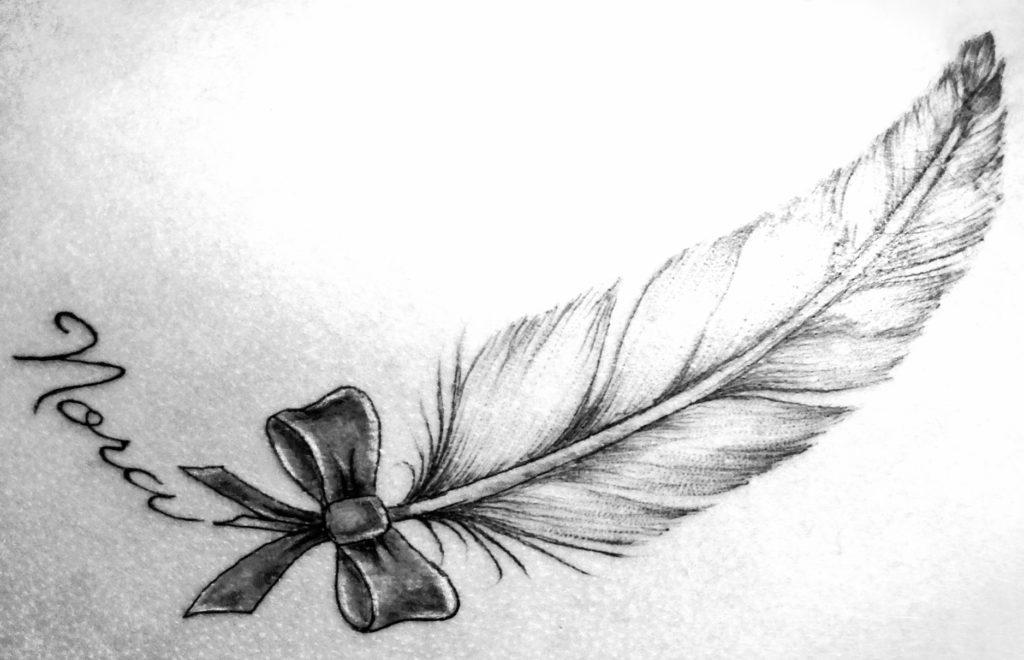 plume tatouée